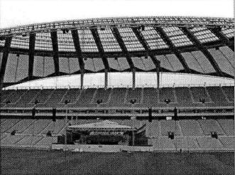 glass-fiber-membrane-structure-material-in-stadium
